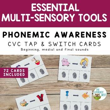 Phonemic Awareness Cards Multisensory Phonics Approach Orton-Gillingham