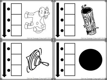 Phonemic Awareness Cards - Elkonin Boxes