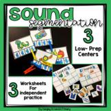 Phonemic Awareness Centers - Sound Segmentation