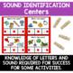 Phonemic Awareness Centers - Sound Identification
