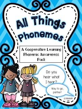 Phonemic Awareness Cooperative Learning Pack