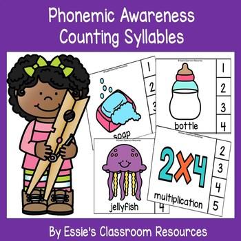 Phonemic Awareness - Counting Syllables