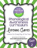 Phonemic Awareness Curriculum: Literature Based - One Year Bundle {Set 2}