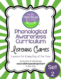 Phonemic Awareness Curriculum: Literature Based - One Year
