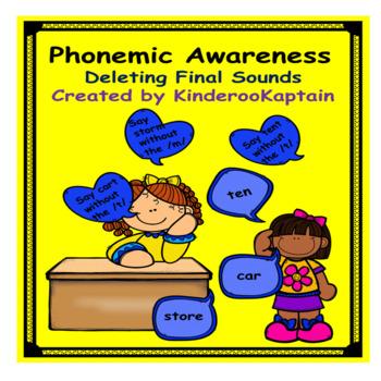 Phonemic Awareness Deleting Final Sounds