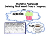 Phonemic Awareness Deleting final word from a Compound Level 1