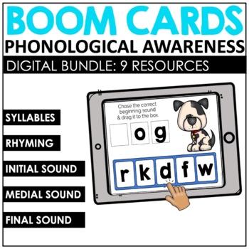 Phonemic Awareness Digital Task Cards BUNDLED