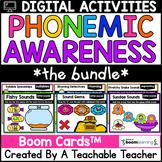 Phonemic Awareness Boom Cards for Phonemic Awareness Digit