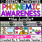 Phonemic Awareness Boom Cards for Phonemic Awareness Digit
