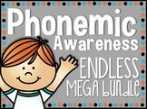 Phonemic Awareness ENDLESS BUNDLE
