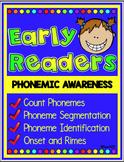 Phonemic Awareness Segmentation, onset, rimes, and count phoneme