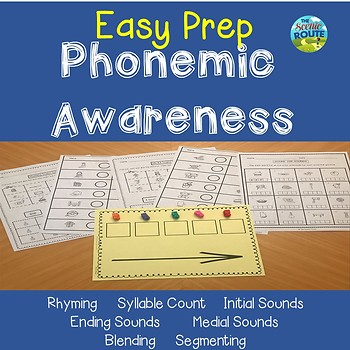 Phonemic Awareness Easy Prep