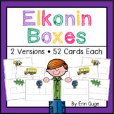 Phonemic Awareness: Elkonin Boxes in 2 Versions
