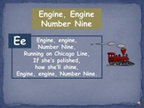 "Phonemic Awareness ""Engine, Engine, Number Nine"""