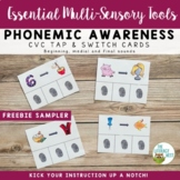 Phonemic Awareness: FREEBIE Cards Multisensory Phonics App