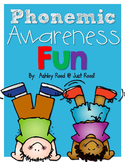 Phonemic Awareness FUN! RTI Resources