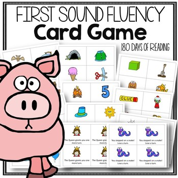 First Sound Fluency Game