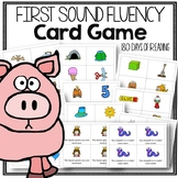 First Sound Fluency Game to Practice Phonemic Awareness