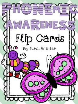 Phonemic Awareness Flip Cards