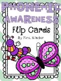 Phonemic Awareness Flip Cards