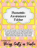 Phonemic Awareness Interventions