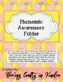 Phonemic Awareness Folder