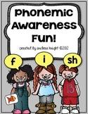 Phonemic Awareness Activities for Primary Children