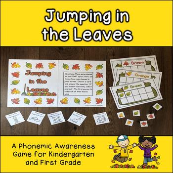 Autumn Phonemic Awareness Game