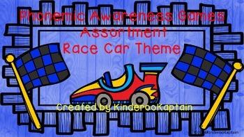 Phonemic Awareness Game Assortment