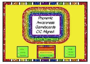 Phonemic Awareness Gameboards C/C Aligned