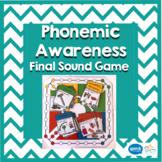 Phonemic Awareness Games - Final Sounds