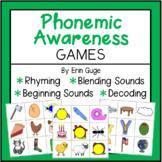 Phonemic Awareness Games: Rhyming, Beginning Sounds, Blending Sounds