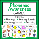 Phonemic Awareness Games: Rhyming, Beginning Sounds, Blend