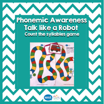 Phonemic Awareness Games - Syllables