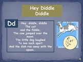 """Phonemic Awareness """"Hey Diddle Diddle"""""""