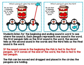 Phonemic Awareness Interactive Literacy PowerPoint (Initial and ending Sounds)