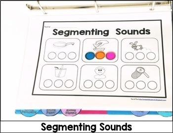 Printable RTI: Interactive Phonemic Awareness Activities