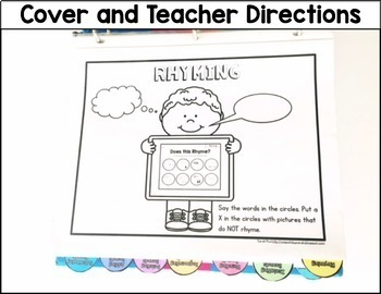 Phonemic Awareness Intervention Printable Activities