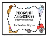 Phonemic Awareness Intervention Book