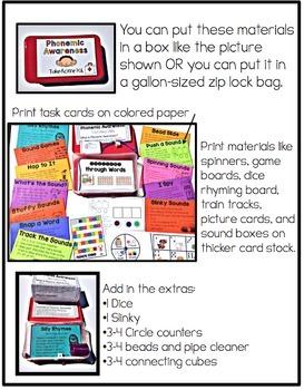 Phonemic Awareness Intervention Kit