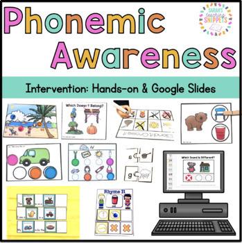 Phonemic Awareness Intervention Pack
