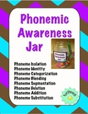 Phonemic Awareness Jar