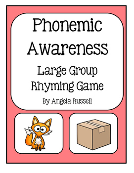 Phonemic Awareness ~ Large Group Rhyming Game