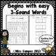 Phonemic Awareness: Leveled Word Lists for Segmenting Practice & Elkonin Boxes