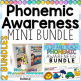 Phonemic Awareness MINI BUNDLE: Assessments, Interventions and Flip Books