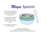 Phonemic Awareness Magic Spoons