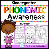 Phonemic Awareness NO Prep Printables