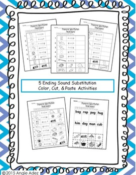 Phonemic Awareness No Prep Pack- Phoneme Substitution