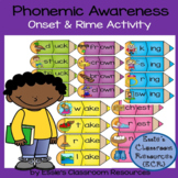 #summer2018 Phonemic Awareness - Onset & Rime Activity