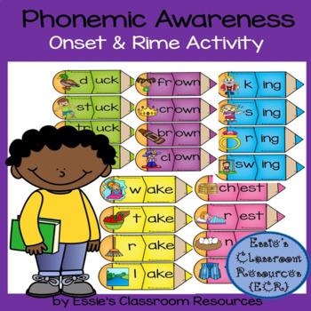 Phonemic Awareness  Onset & Rime Activity